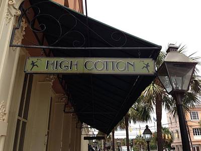 Photograph - High Cotton by M West