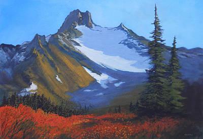 Robert Duvall Painting - High Country Autumn by Robert Duvall
