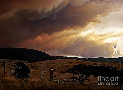 High Country Bushfire Original by Blair Stuart