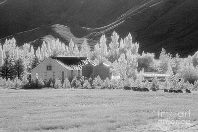 High Country Station Art Print by Colin and Linda McKie