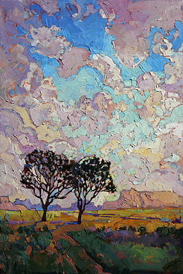 Painting - High Desert Greens by Erin Hanson