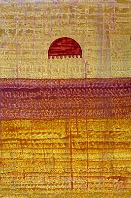 Painting - High Desert Horizon Original Painting by Sol Luckman