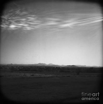 Pinhole Photograph - High Desert In Black And White #2 by Paul Anderson