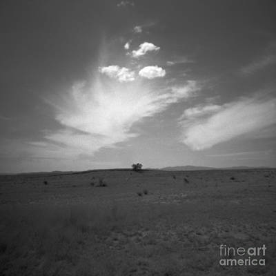 Pinhole Photograph - High Desert In Black And White by Paul Anderson