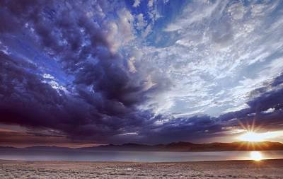 Photograph - High Desert Lake Sunrise 2 by SB Sullivan