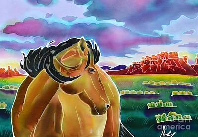 Wyoming Painting - High Desert Mustang by Harriet Peck Taylor