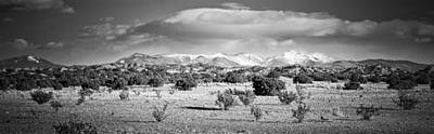 High Plains Photograph - High Desert Plains Landscape by Panoramic Images