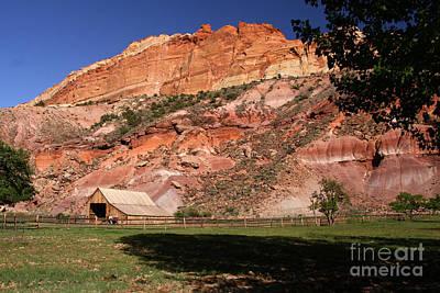 Photograph - High Desert Ranch by Butch Lombardi