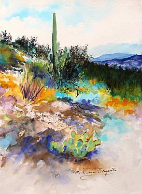 High Desert Scene 2 Art Print