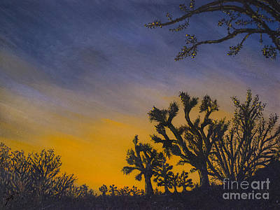 Painting - High Desert Twilight by Suzette Kallen
