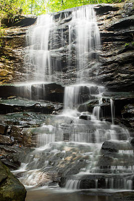 Photograph - High Falls At Moss Rock Preserve by Shelby  Young
