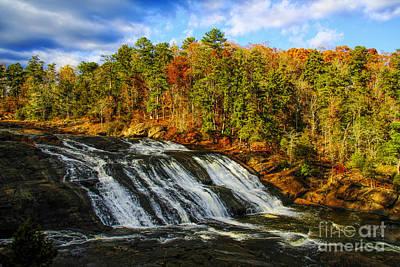 Photograph - High Falls by Barbara Bowen