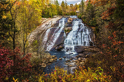 High Falls Art Print by John Haldane