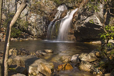 Photograph - High Falls Talledega National Forest Alabama by Charles Beeler