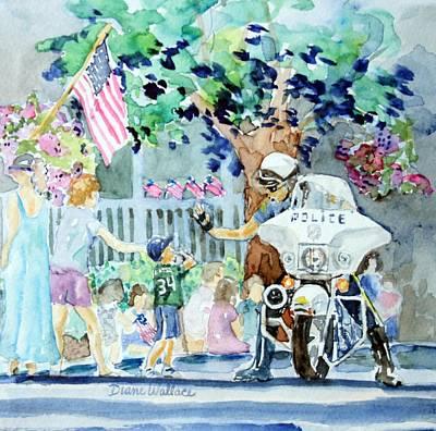 High Five Art Print by Diane Wallace