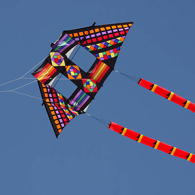 High Flying Kite Art Print by Art Block Collections