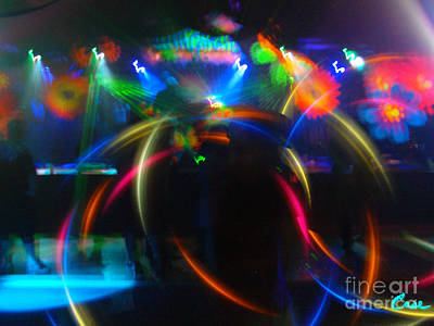 Photograph - High Frequency Glow by Feile Case