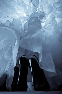 Stiletto Heel Photograph - High Heels And Petticoats by Scott Sawyer