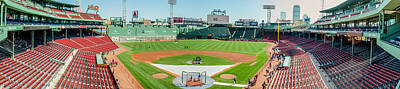 Photograph - High Home At Fenway by Alan Marlowe