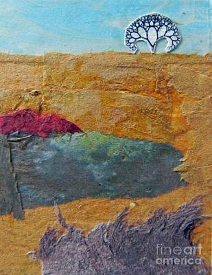 Mixed Media - High Horizon by Patricia  Tierney