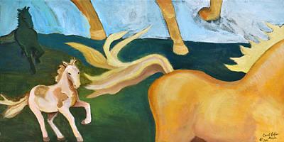High Horse Art Print