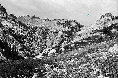 Photograph - High In The Trinity Alps With Bigfoot And A Ufo by Ben Upham III
