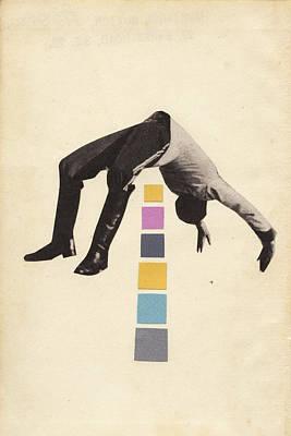 High Jump Art Print by Cassia Beck