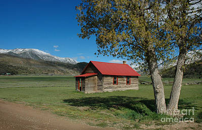 One Room School Houses Photograph - High Lonesome Ranch by Jerry McElroy