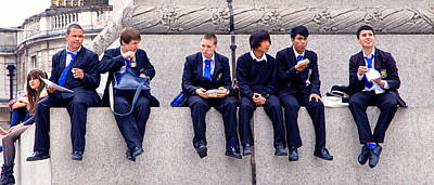 Photograph - High Lunch by Keith Armstrong