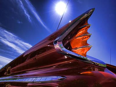 Photograph - High Noon Fish Tailin' - Classic De Soto Automobile  by Vlad Bubnov