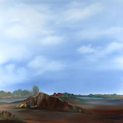 Wall Art - Painting - High Noon by Linda Wimberly