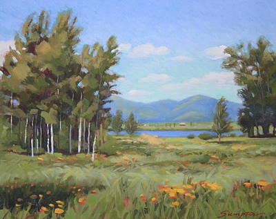 High Plains Idaho Art Print