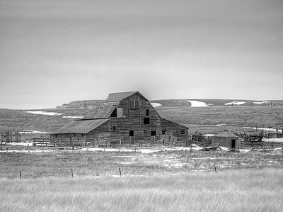 Photograph - High Plains Winter by HW Kateley