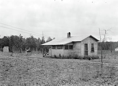 Social Change Photograph - High Point, North Carolina - Housing. Homes Of Skilled by Litz Collection