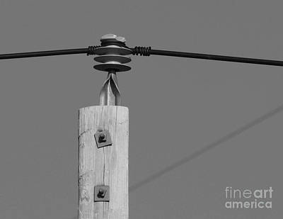 Art Print featuring the photograph High Power Line - 6 by Kenny Glotfelty