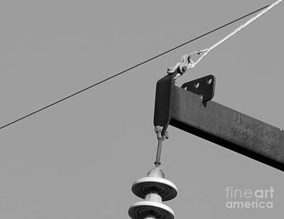 Art Print featuring the photograph High Power Line - 7 by Kenny Glotfelty