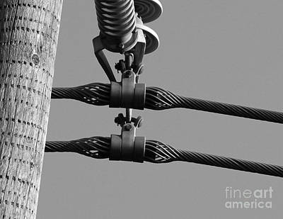 Art Print featuring the photograph High Power Lines - 5 by Kenny Glotfelty