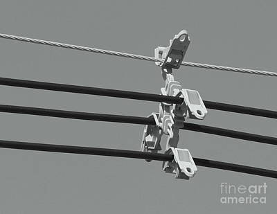 Art Print featuring the photograph High Power Lines - 9 by Kenny Glotfelty