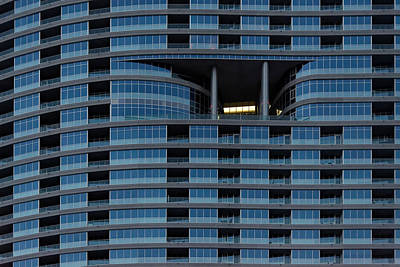 Photograph - High Rise Windows by Julie Niemela