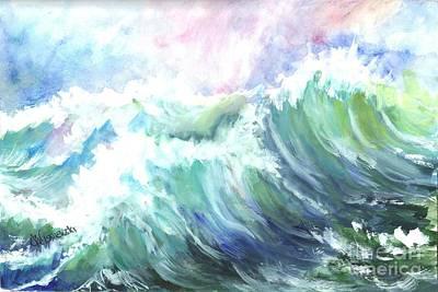 High Seas Art Print by Carol Wisniewski