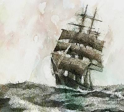 High Seas Original by Dragica  Micki Fortuna