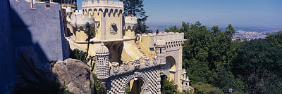 Pena Photograph - High Section View Of A Building, Pena by Panoramic Images