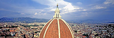 High Section View Of A Church, Duomo Print by Panoramic Images