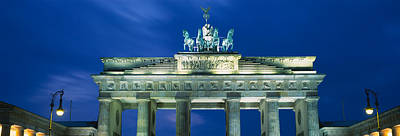 Berlin Photograph - High Section View Of A Gate by Panoramic Images
