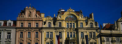 High Section View Of Buildings, Prague Art Print by Panoramic Images