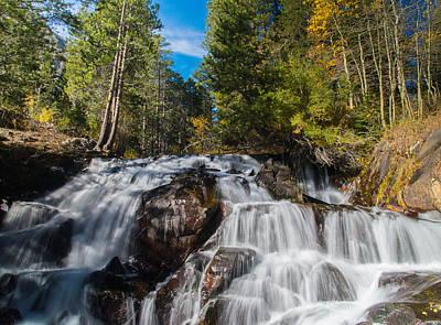 Photograph - High Sierra Autumn Falls by Lynn Bauer