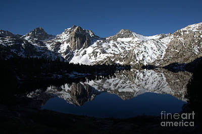 High Sierra Mountain Reflections 1 Art Print