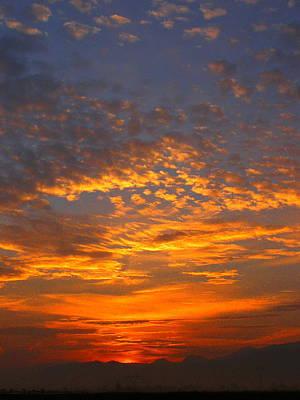 Photograph - High Sierra Sunrise by Tamyra Crossley