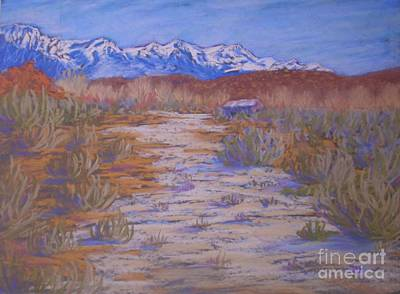 Painting - High Sierras Dry Wash by Suzanne McKay