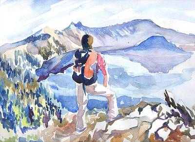 Drawing - High Sierras by Parag Pendharkar